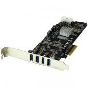 Tarjeta controladora PCI Express con 4 puertos USB 3.0 Startech PEXUSB3S42V