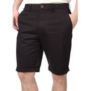FOX muške kratke hlače Selecter Chino 30 crna