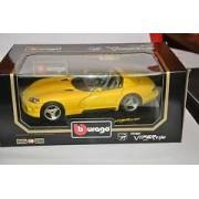 B Burago Dodge Viper Rt 10 1993 Code 3065 Italy Jaune-Bburago