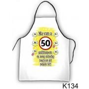 Ma van a 50. szülinapom 134 - Tréfás kötény