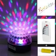 LED Discolamp - Magic Jelly - USB/SD kaart - DJ Ball