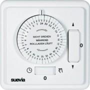 Suevia mechanikus napi rollófelhúzó időkapcsoló óra, falba sülyeszthető, 2200W, min. 30 perc, 248.21