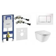 Geberit Podtynkowy zestaw do wc Geberit UP320 Sigma12 111.320.00.5 z wc Roca Gp Rimless