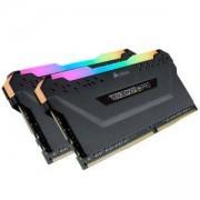 РАМ Памет Corsair DDR4, 3466MHz 16GB (2 x 8GB) 288 DIMM, Unbuffered, 16-18-18-36, Vengeance RGB PRO black, CMW16GX4M2C3466C16