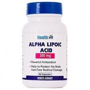 Healthvit Alpha Lipoic Acid 300mg 60 Capsules