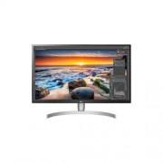 """LG UHD Monitor 27"""" - 27UL850-W 3840x2160, 16:9, 350 cd/m2, 5ms, HDMIx2, DisplayPort, USB-C, PIVOT, VESA DisplayHDR400"""