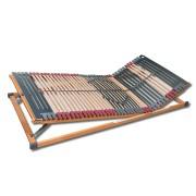 FMP Matratzen Manufaktur 7 Zonen Lattenrost Rhodos KF verstellbar, 44 Leisten 120 x 200 cm