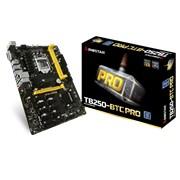 Biostar TB250-BTC PRO Ver. V6.3 Socket LGA 1151 Motherboard - Support the Intel 7th generation Core i7