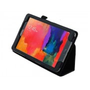 Synthetic Leather Flip Case with Fold-Back Stand for Samsung Galaxy Tab Pro 8.4 - Samsung Leather Flip Case (Classic Black)