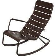 Fermob Rocking chair Luxembourg / Aluminium - Fermob rouille en métal
