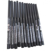 ADS Waterproof Eye Lip Liner Black Pencil Long Lasting A0618BLK (Set of 12 g)