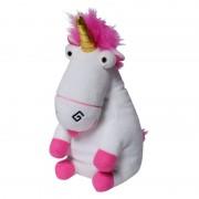 Papusa de mana Minion Unicorn, 30 x 16 x 27 cm, 3 ani+, Multicolor