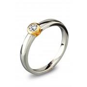Diamonde Gouden bicolor ring SOL-M948-020-G2