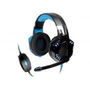 TRACER Słuchawki z mikrofonem Tracer GAMEZONE Hydra 7.1 Gaming czarno-niebieskie
