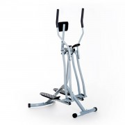 HOMCOM Air Walker with LCD for Home Gym-Silver/Black