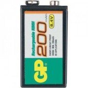 Акумулаторна Батерия R22 8.4V 200mAh NiMH 1бр. в опаковка GP - GP-BR-R22-200mA