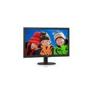 Monitor Led 23 Philips 243v5qhab 23,6 1920 X 1080 Full HD Wide Vga Dvi Hdmi Vesa Multimidia