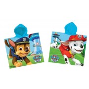Poncho mare bambini PAW PATROL Chase Marshall cotone