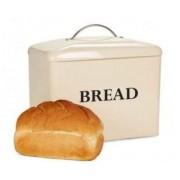 Cutie depozitare paine, cream Andrew James AJ001378, Metal Fonta