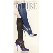 Gerbe - Opaque gloss support knee highs Futura 40