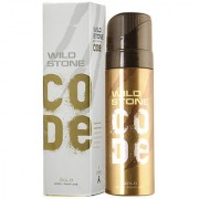 Wild Stone Code Gold Body Perfume Spray For Men( Pack of 4 pcs. )