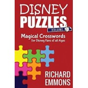 Disney Puzzles (Volume One): Magical Crosswords for Disney Fans of All Ages, Paperback/Bob McLain