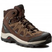 Туристически SALOMON - Authentic Ltr Gtx GORE-TEX 394668 27 V0 Black Coffee/Chocolate Brown/Vintage Khaki