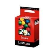 Lexmark 29A Cartucho de tinta (Lexmark 18C1529) color