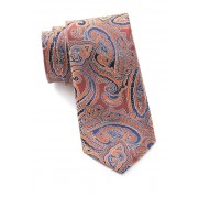 Ted Baker London Large Tonal Paisley Silk Tie ORANGE