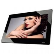 """Hama Slim Steel 8SLP, черна, 18.5"""" (43.18 cm) 1366x768, 4GB, SD/SDHC/MMC, видео, дистанционно"""