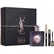 YSL Black Opium Nuit Blanche Комплект (EDP 50ml + Mascara 2ml + Pencil) за Жени
