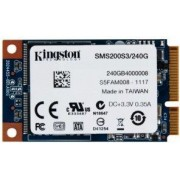 SSD mSATA3 Kingston 240GB mS200 540/530MB/s, SMS200S3/240G