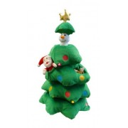 Singing Christmas Tree Santa Reindeer Snowman Musical Plush Toy with Motion