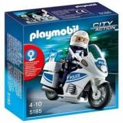 Комплект Плеймобил 5185 - Полицейски мотор, Playmobil, 290790