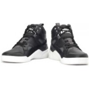 Puma Ftr Trinomic Slipstream Lite High Ankle Sneakers For Men(Black)