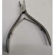 Nagelhoektang (voor ingegroeide nagels) - Extra fijn - 13 cm - snit : 16 mm - Professionele nageltang (pedicure - voetverzorging)