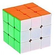 Ruler Mini Cube 3x3x3 6 Colors Cube Stickerless Speed Cube