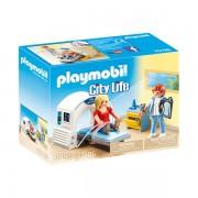 Set de joaca Playmobil City Life, Radiolog