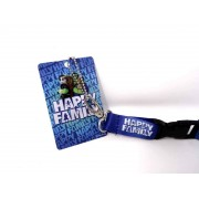 Happy Family Keyholder