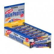Weider, 40% barres hyperprotéinées et faibles en glucides caramel-noisette