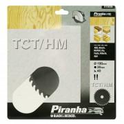 Piranha cirkelzaagblad standaard TCT-HM 190x30 mm 40 tanden X13035