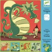 Şabloane Djeco Dragoni