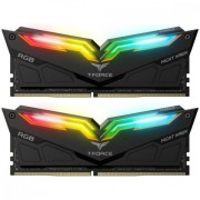 DDR4, KIT 16GB, 2x8GB, 3200MHz, Team Group Elite T-Force NIGHT HAWK RGB, 1.35V, CL15 (TF1D416G3200HC16CDC01)
