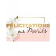 Wonderbox Coffret cadeau Carte FÉLICITATIONS (MARIAGE) - Wonderbox