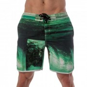 Lord Tropical Boardshorts Beachwear Green MA003