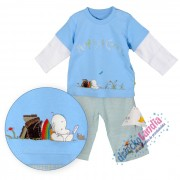Komplet - spodenki i bluzeczka chłopiec Mothercare
