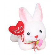 Tickles Romantic Loving Rabbit Animals & Figures With You Are Special Balloons (White_26 cm)