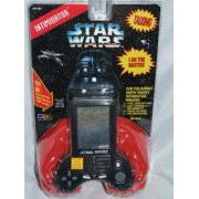 Star Wars Darth Vader Intimidator Talking Handheld Game Micro Games of America - LCD Handheld