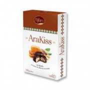Bomboane de ciocolata cu miere si arahide AraKiss 136 g
