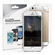 kwmobile 6x Ochranná fólie na display pro Apple iPhone SE - průhledná